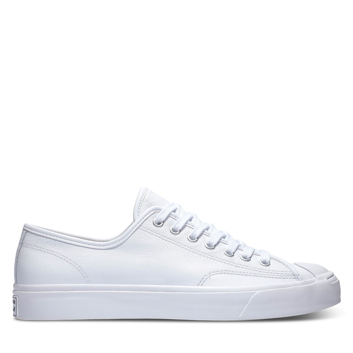 Men's Jack Purcell Sneakers in White Leather