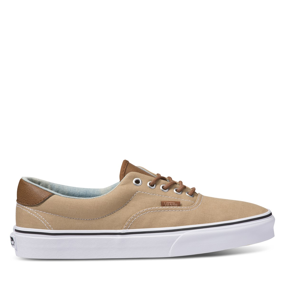 Men's C&L Era 59 Sneakers in Beige