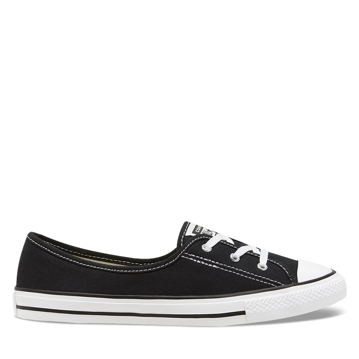 Women's Chuck Taylor All Star Ballet Slip/Ons in Black