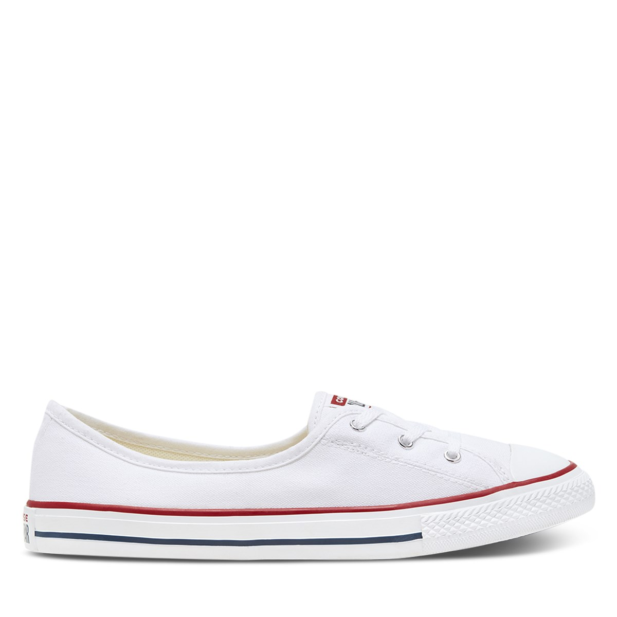 Women's Chuck Taylor All Star Ballet Slip-Ons in White