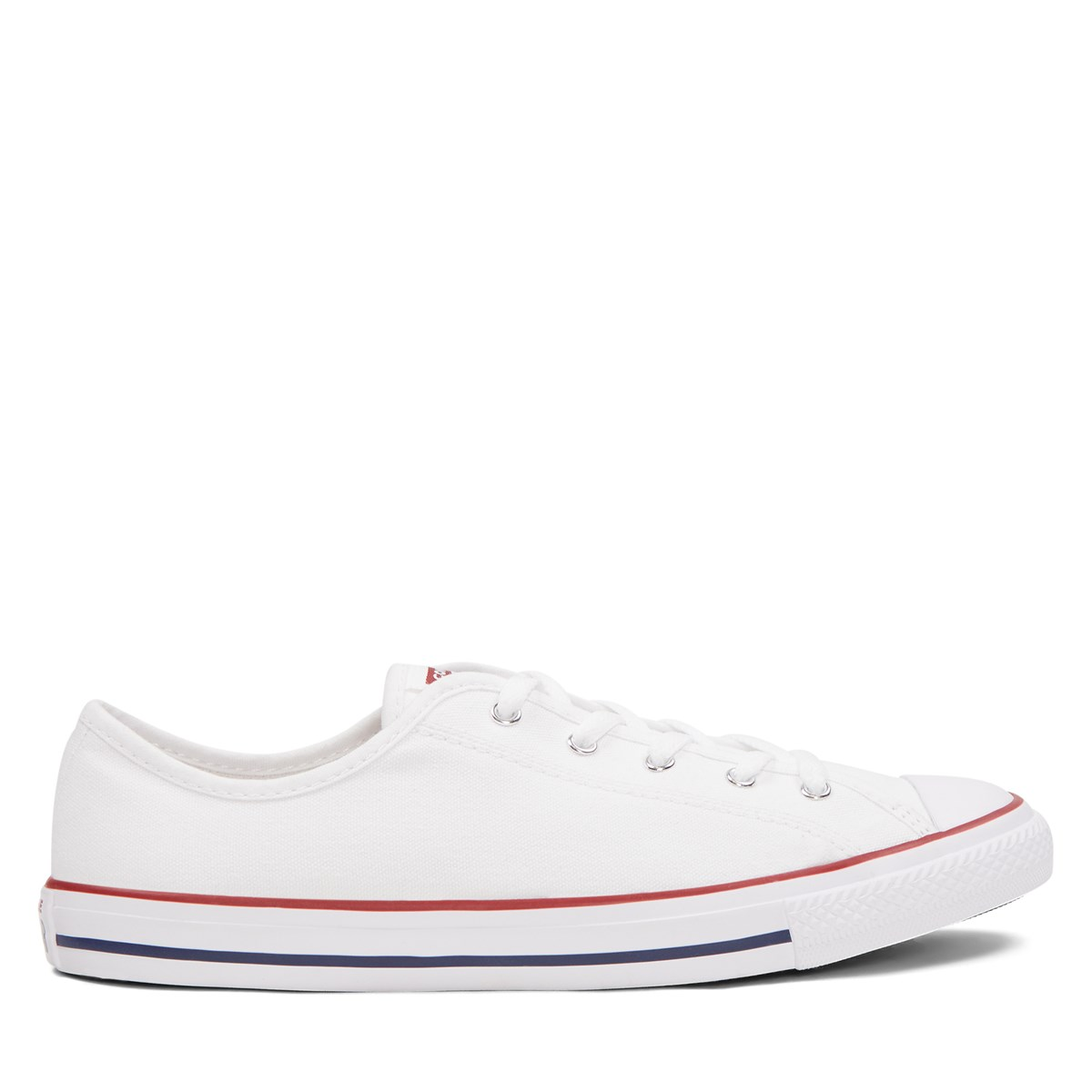 Women's Chuck Taylor All Star Dainty Sneakers in White