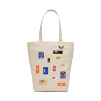 Nike Heritage Tote Bag In Cream