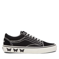 Women's Sandy Liang Old Skool Sneakers in Black