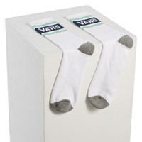 Chaussettes Tribe Crew blanches pour hommes