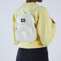 Getting It Mini Checkerboard Backpack in Clear