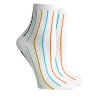 Women's That's All Right Ankle Socks in White