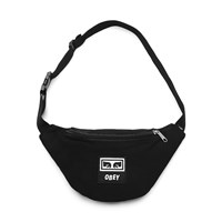 Wasted Hip Bag in Black