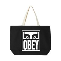 Eyes Icon 2 Tote Bag in Black