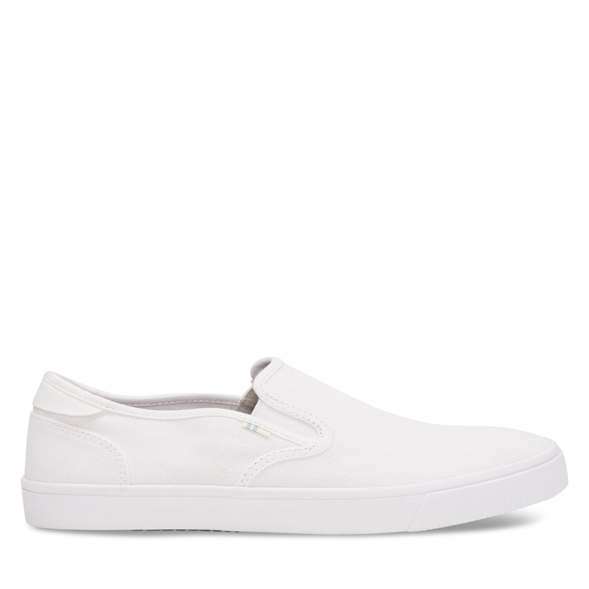 Chaussures Baja Slip-Ons blanches pour hommes