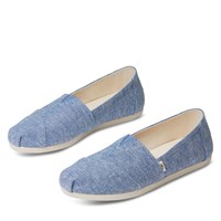 Women's Alpargata Slip/Ons in Blue