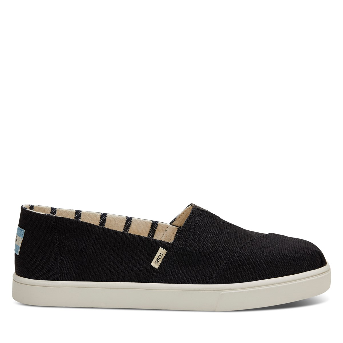 Women's Alpargata Slip-Ons in Black