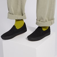 ComfyCush Classic Slip-Ons in All Black