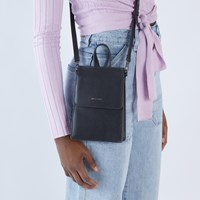 Thessa Small Crossbody Bag in Black
