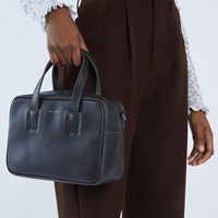 Kensism Small Satchel in Black