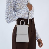 Thessa Small Crossbody Bag in Pearl