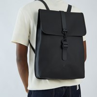 Rucksack Backpack in Black