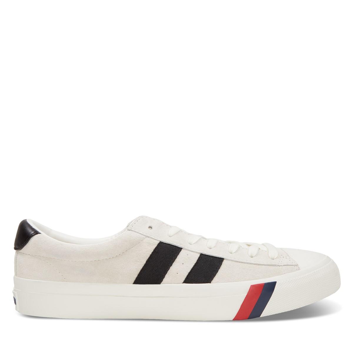Men's Royal Plus Sneakers in Cream