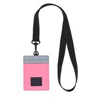Étui à cartes Charlie RFID rose fluo