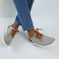 Men's Rocco Shoes in Beige Chambray