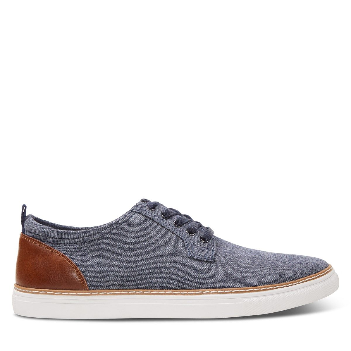 Men's Rocco Shoes in Blue Chambray