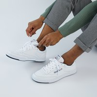 Men's Club C Archive 35th Anniversary Sneakers in White