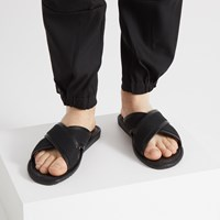 Men's Ben Slide Sandals in Black