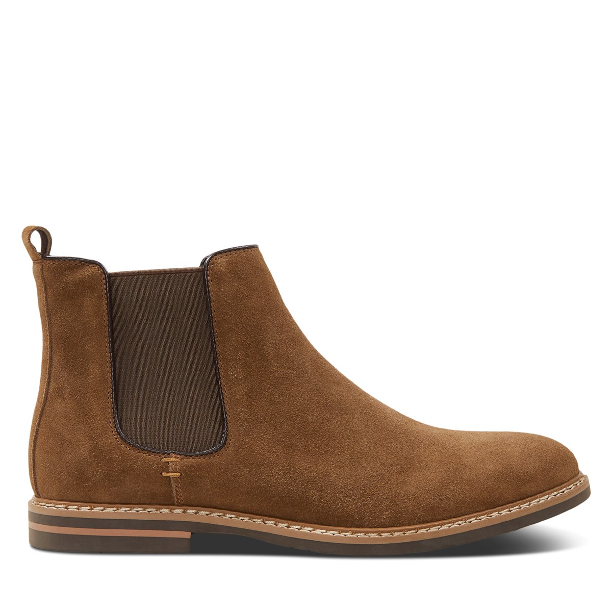 Men's Lucas Chelsea Boots in Tobacco