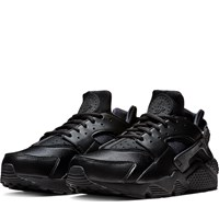 Women's Huarache Run Sneakers in Black