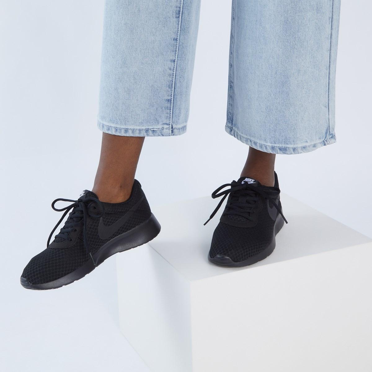 Women's Tanjun Sneakers in Black