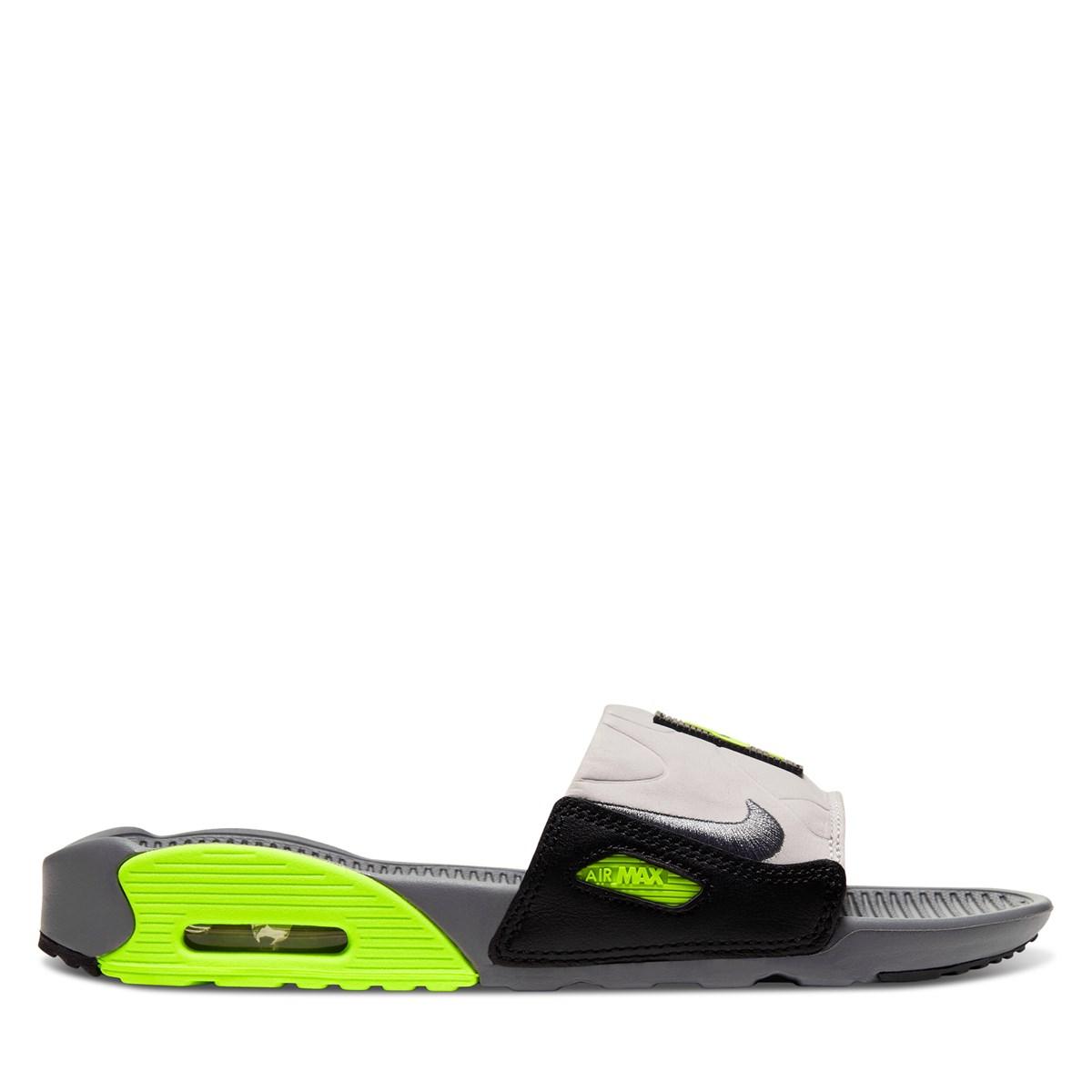 Sandales Air Max 90 vertes pour femmes