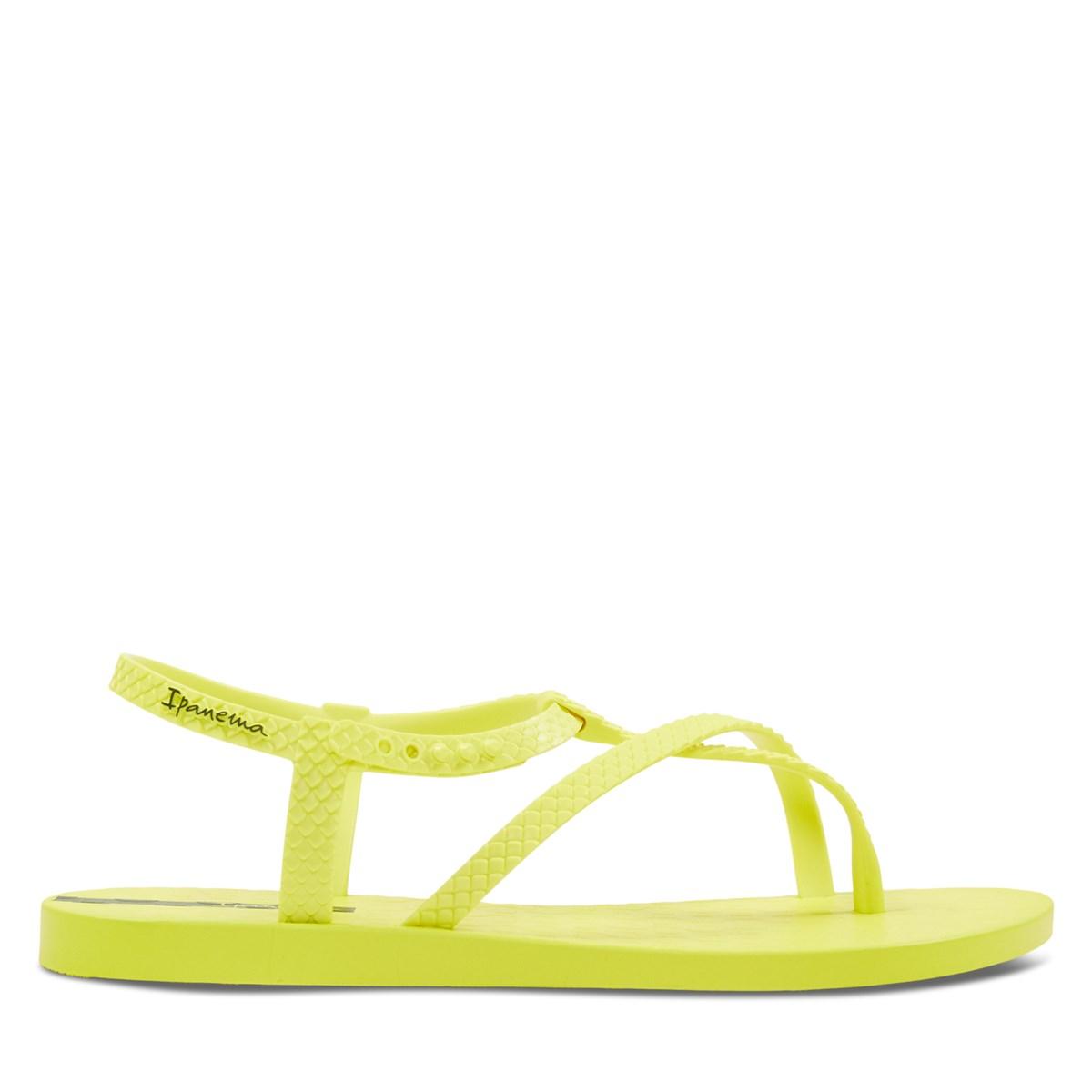 Women's Aphrodite Sandals in Yellow