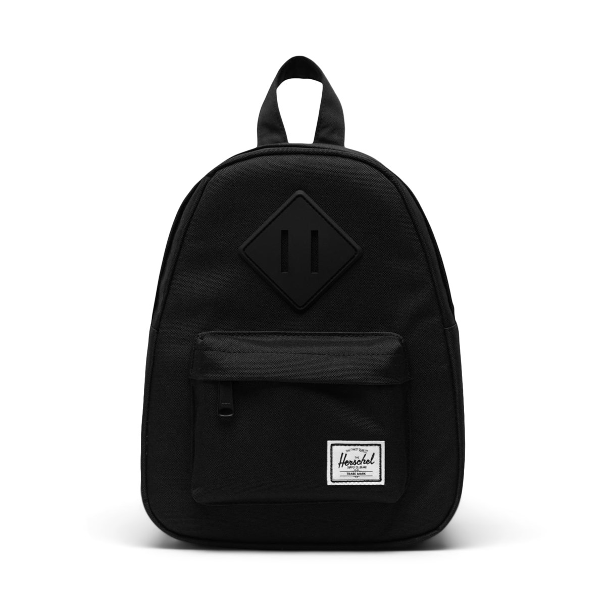 Heritage Mini Backpack in Black