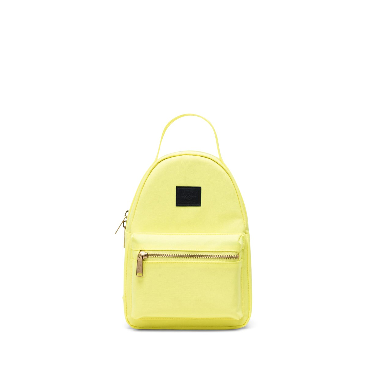 Nova Mini Backpack in Neon Yellow