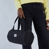Sutton Mini Duffle Bag in Black