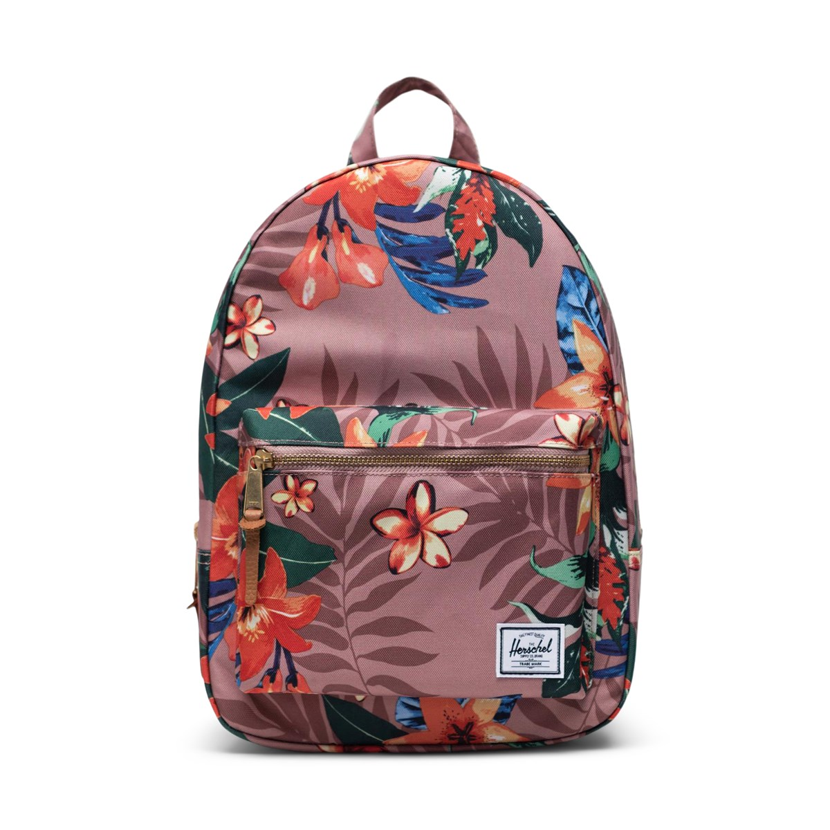 Floral Grove Small Backpack in Ash Rose