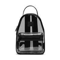 Transparent Nova Mini Backpack in Black