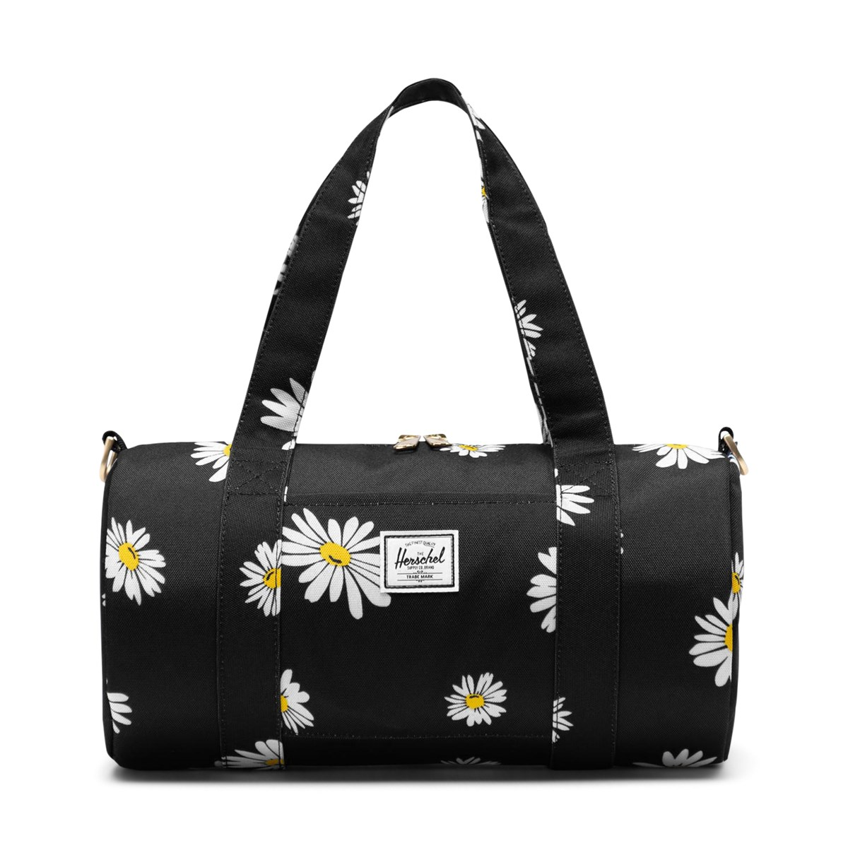 Daisy Sutton Mini Duffle Bag in Black