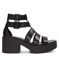 Women's Dioon Heeled Sandals in Black