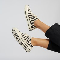 Women's Chuck 70 Ox Sneakers in Zebra Print