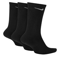 Everyday Plus Cushion Crew Socks in Black