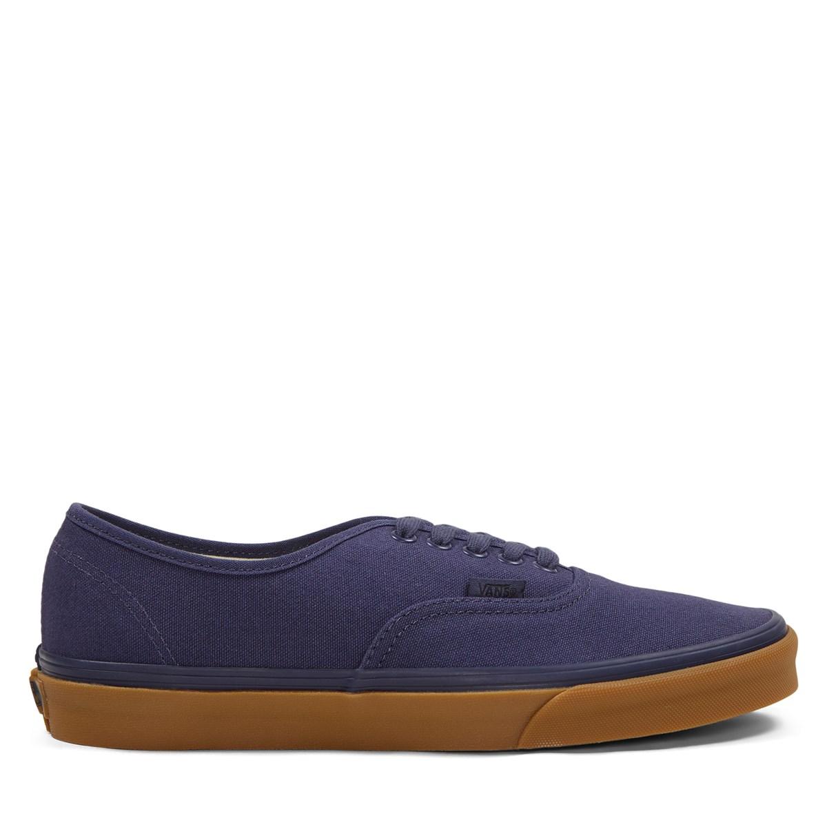 Men's Authentic Sneakers in Navy Blue