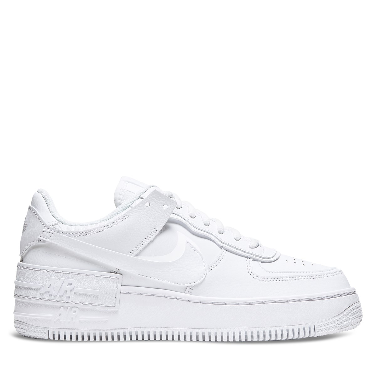 Women's Air Force 1 Shadow Sneakers in White