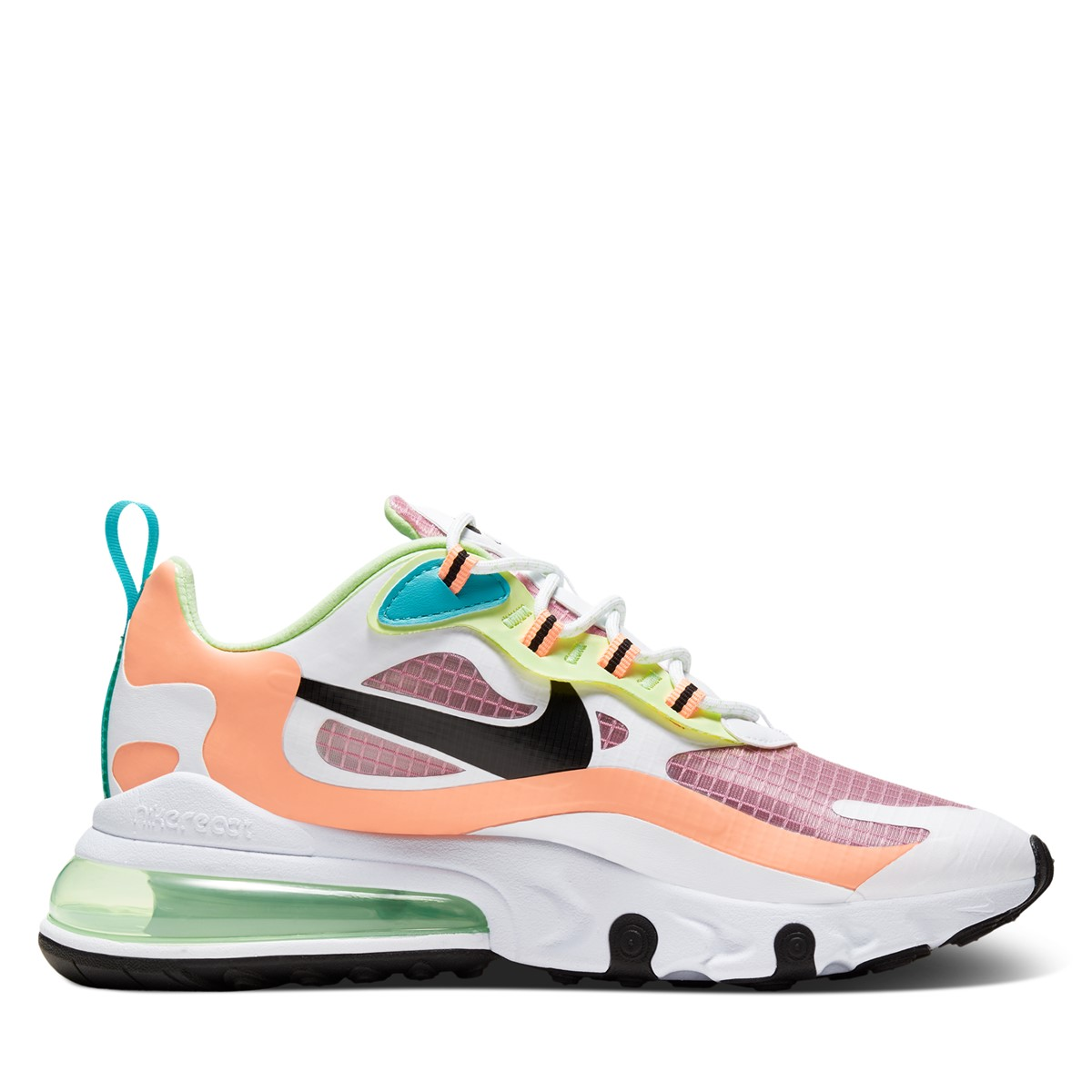 Women's Air Max React Sneakers in White