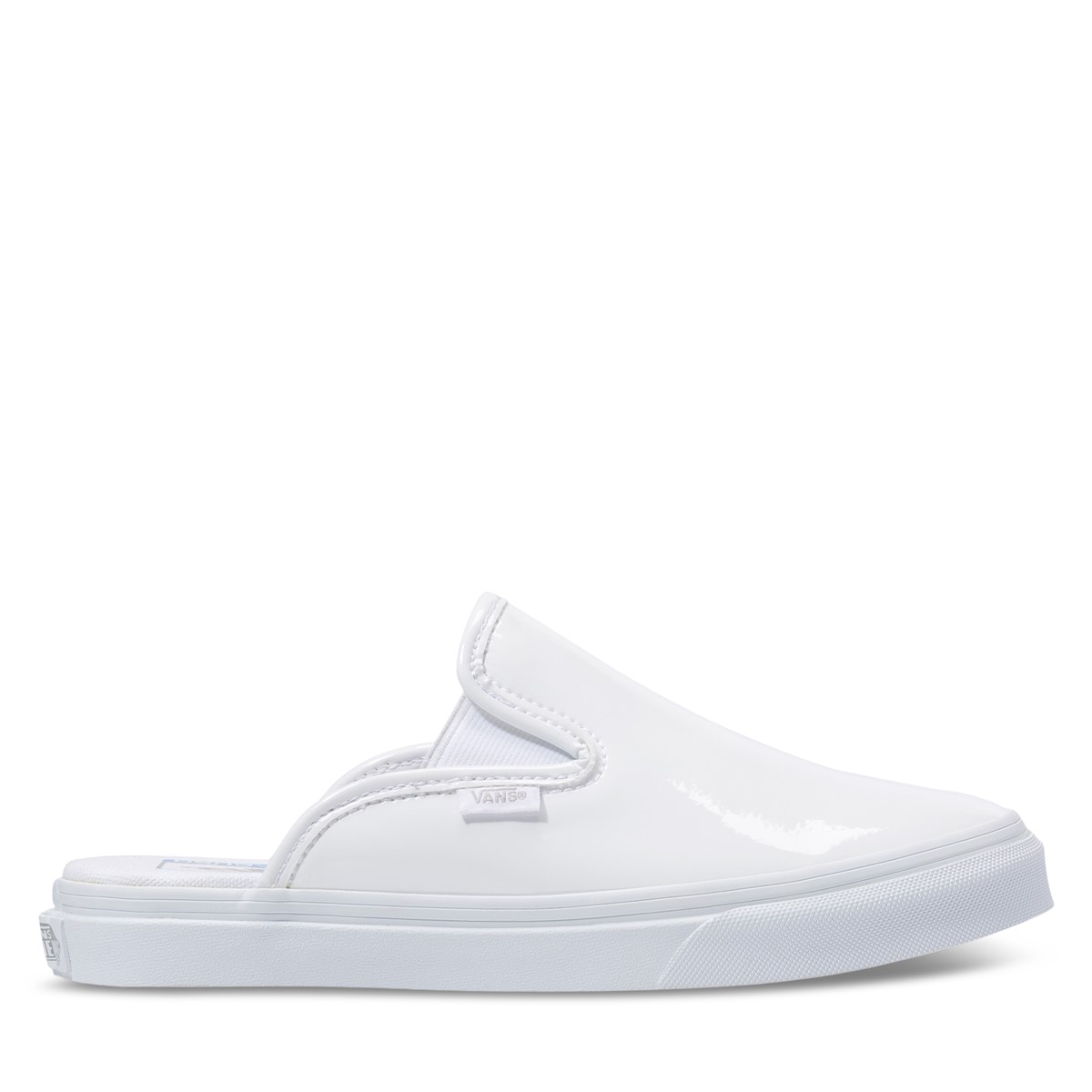 Women's Mule SF Slip-Ons in White