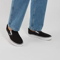 ComfyCush Classic Slip-Ons in Black