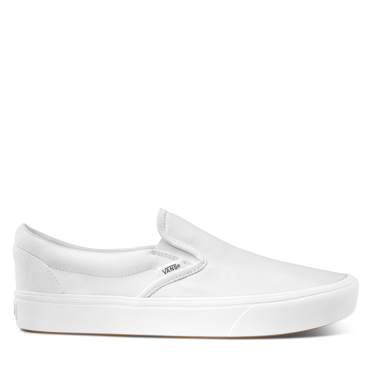 ComfyCush Classic Slip-Ons in White