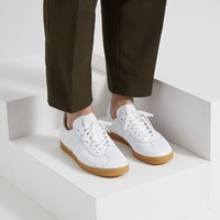 Men's Gazelle Sneakers in White