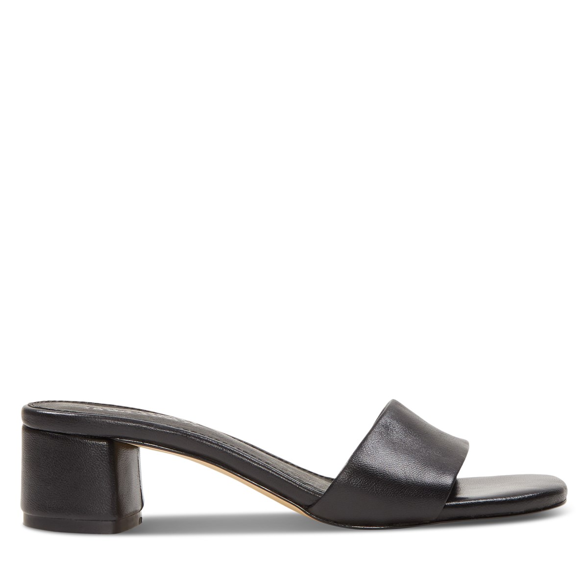 Women's Ella Heeled Mules in Black