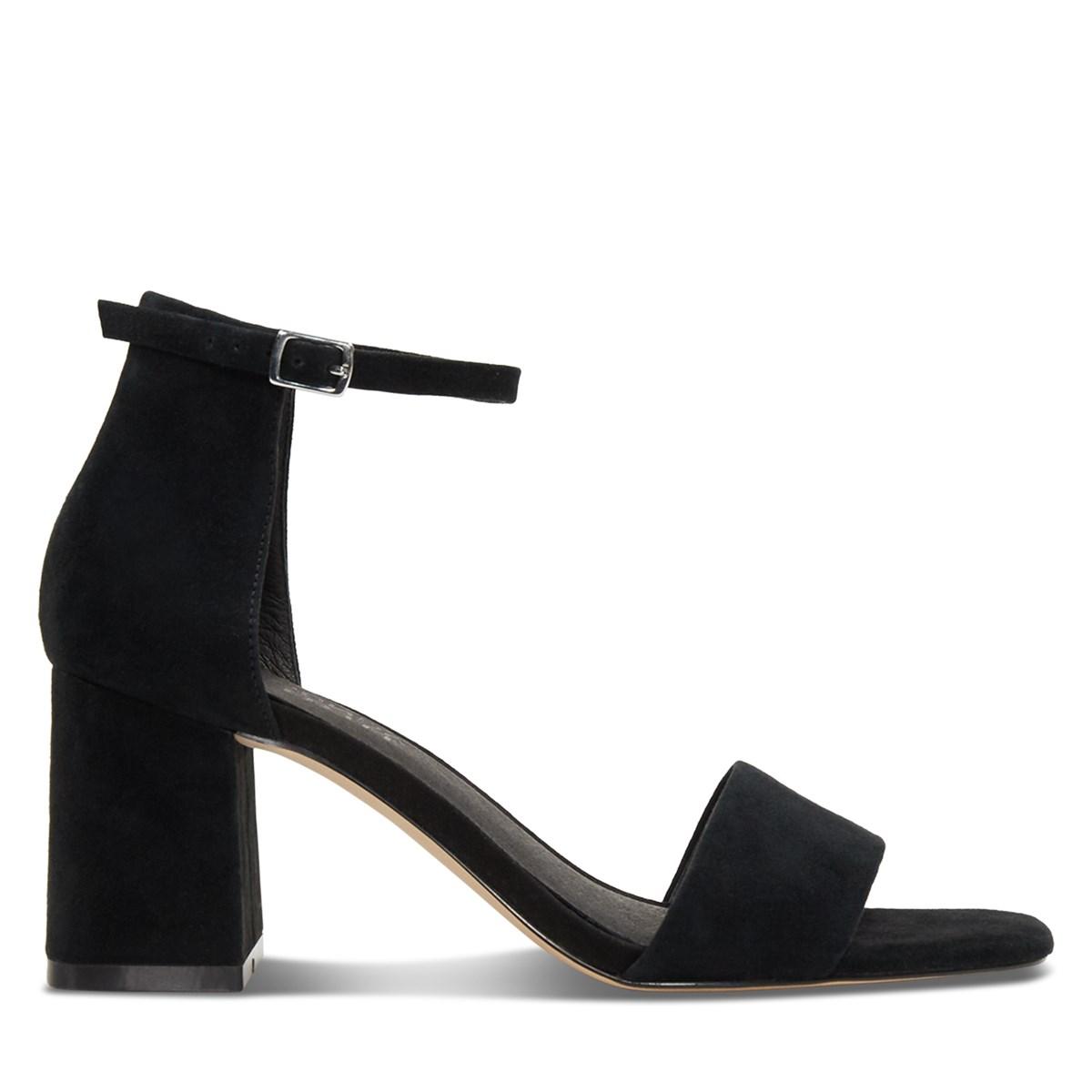 Women's Alessia Heeled Sandals in Black