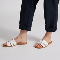 Sandales Helena blanches pour femmes